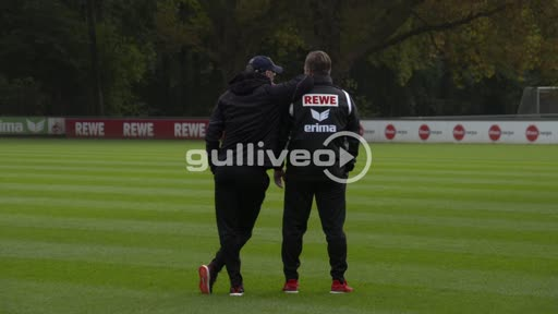 Footage of the Preperation on the Match against Hamburger SV